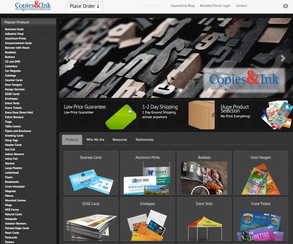 Copies&Ink Online Store